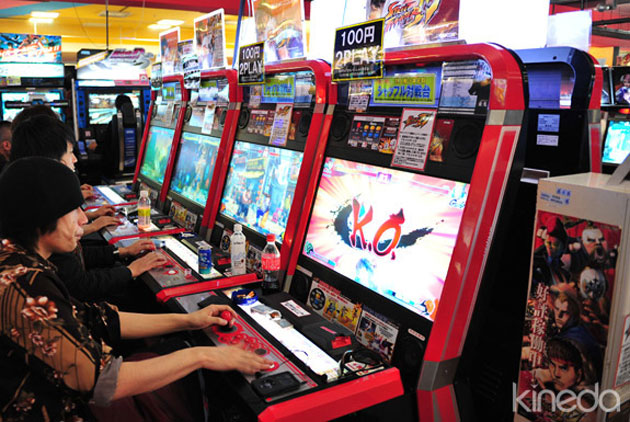Japanese sit-down style arcade cab? : cade
